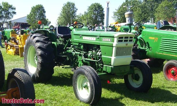 Oliver 1465 Built by Fiat | Tractors made in Italy