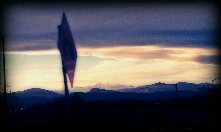 Beautiful mountains from loveland co beautiful