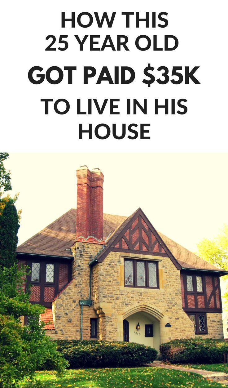 How this 25 year old got paid $35,000 to live in his house!