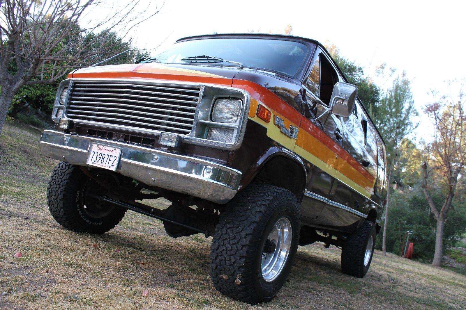 1978 Gmc Vandura G35 Ebay Gmc Monster Trucks Ebay