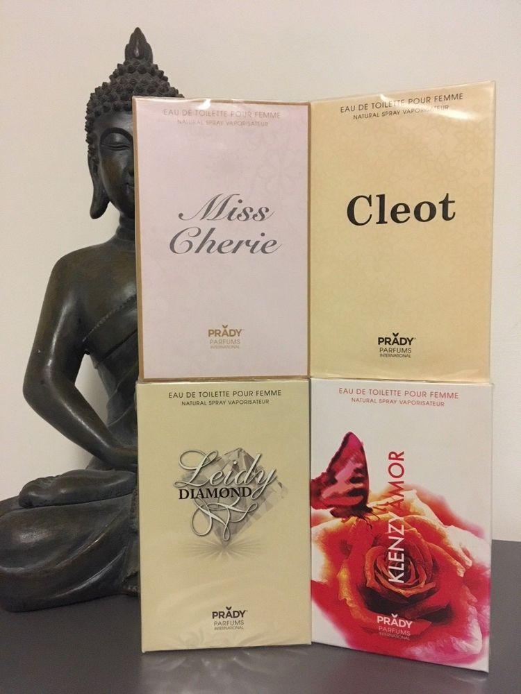 parfum générique 100ml (x4) lot femme grande marque connue Prady ou  catalogue 35bbee9e1a4f
