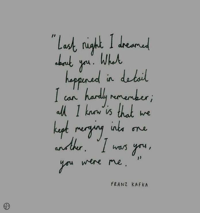 I Dreamed Last Night