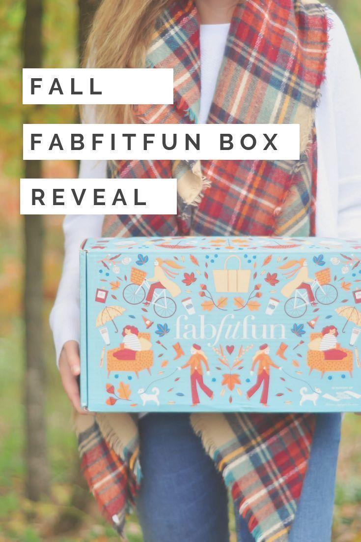 Fabfitfun 2018 fall box reveal pearls lattes fab fit