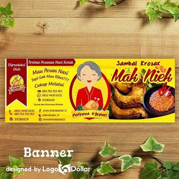 Contoh Logo Makanan Ringan | jasa desain grafis online
