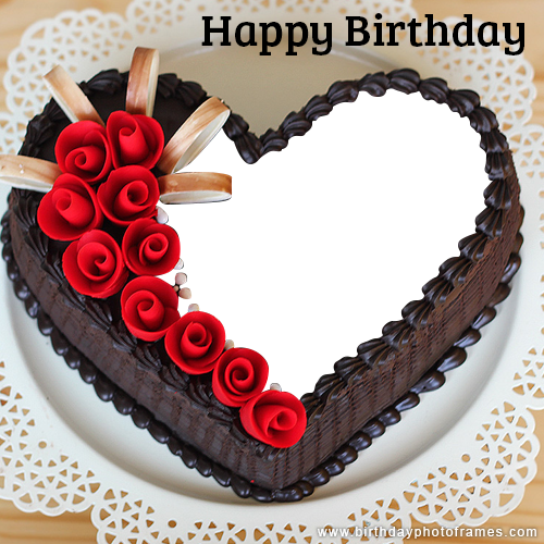 Stupendous Romantic And Lovely Birthday Cake With Name And Photo Edit In 2020 Funny Birthday Cards Online Overcheapnameinfo
