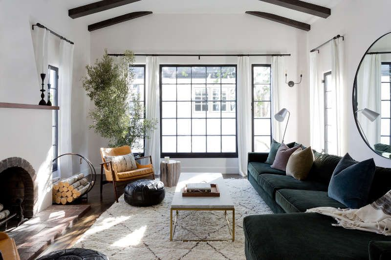 Spanish Mission Style Renovation Living Room Decor Apartment Spanish Style Home Modern Apartment Living Room
