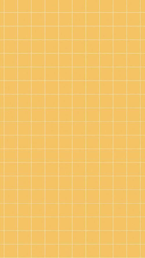 [Art]Aesthetic Wallpaper yellow grid ArtAesthetic grid