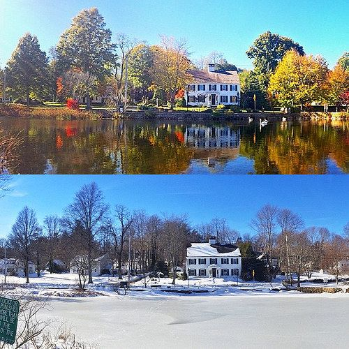 What A Difference 3 Months Can Make I Took The Top Photo November 1st And The Bottom Photo Today January 29th Photo Today Wonderful Places Photo