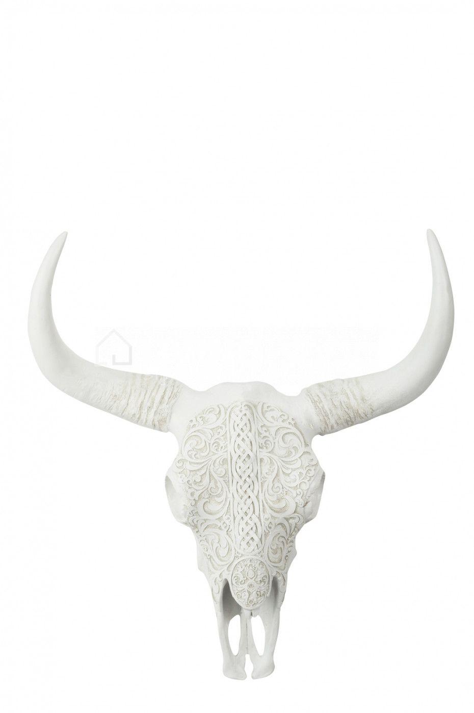 Schedel buffel gekerft J-Line online webshop LIVING-shop, stijlvol ...
