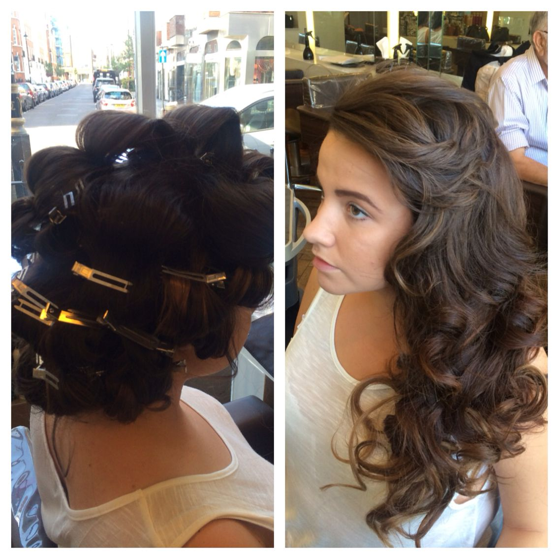 Pin Curl Blow Dry Blowdry Bar Wedding Hairstyles Hair Styles Pin Curls