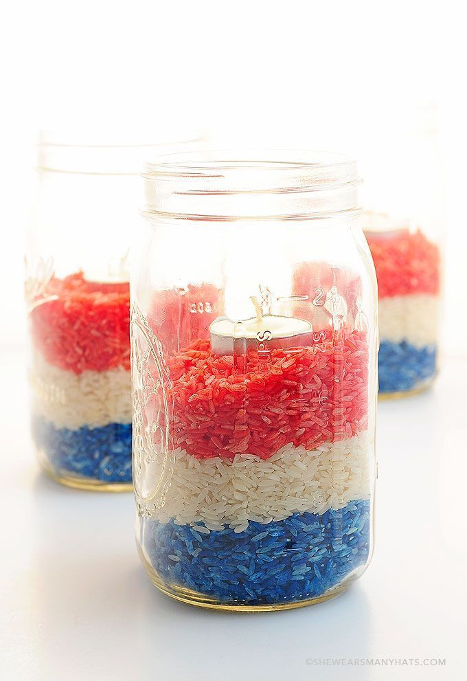 Easy Diy Red White And Blue Party Decoration Awesome 4th Of July