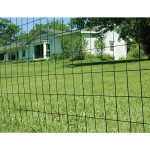 Yardgard 5 Ft X 50 Ft 16 Gauge Vinyl Galvanized Welded Wire 308354b The Home Depot Welded Wire Fence Wire Fence Wire Fence Panels