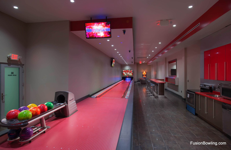 Bar Top Home Bowling Alley Home Gym Design Dream Basement