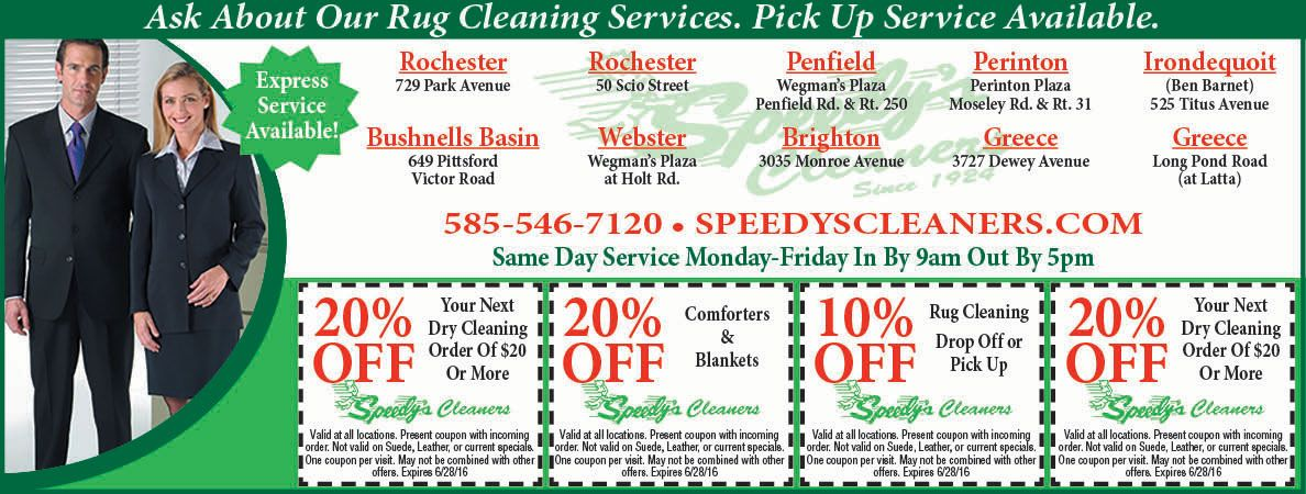 Speedy S Drycleaners Has Coupons For Comforters And Area Rug Cleaning Rochester Ny Valpak Coupon Www Speedysclean Dry Cleaning Services Dry Cleaning Cleaning