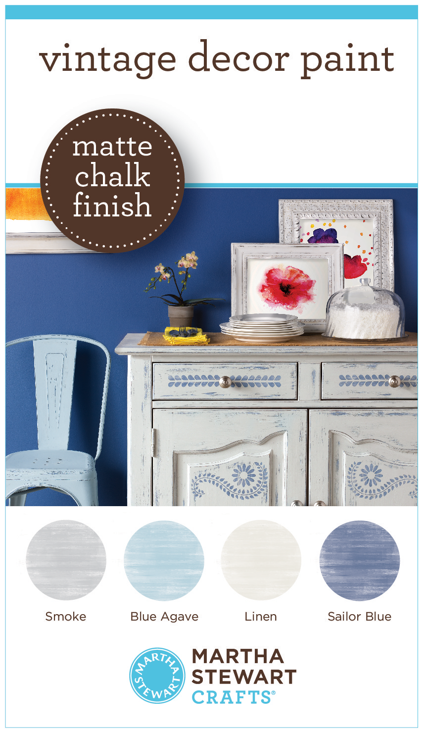 Learn More And See All  Colors In The New Martha Stewart Crafts