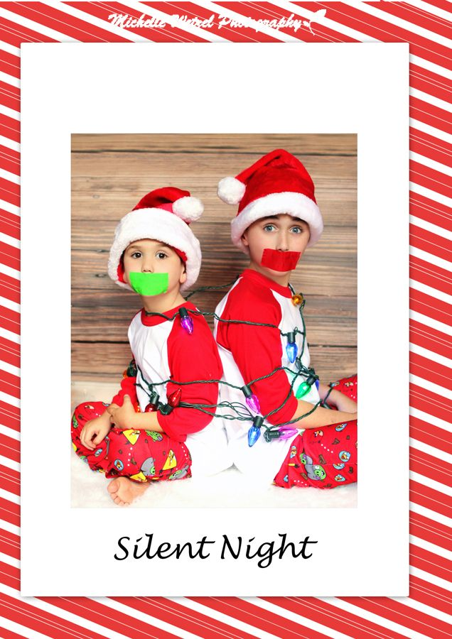 Funny Christmas Card Christmas Card Silent Night Christmas Card ...