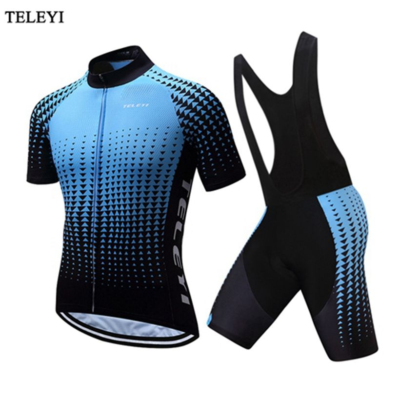 Teleyi Summer Men maillot ciclismo Cycling Jersey 2017 hombre verano Bike  Cycling clothing Ropa Ciclismo Sports Clothing Kit