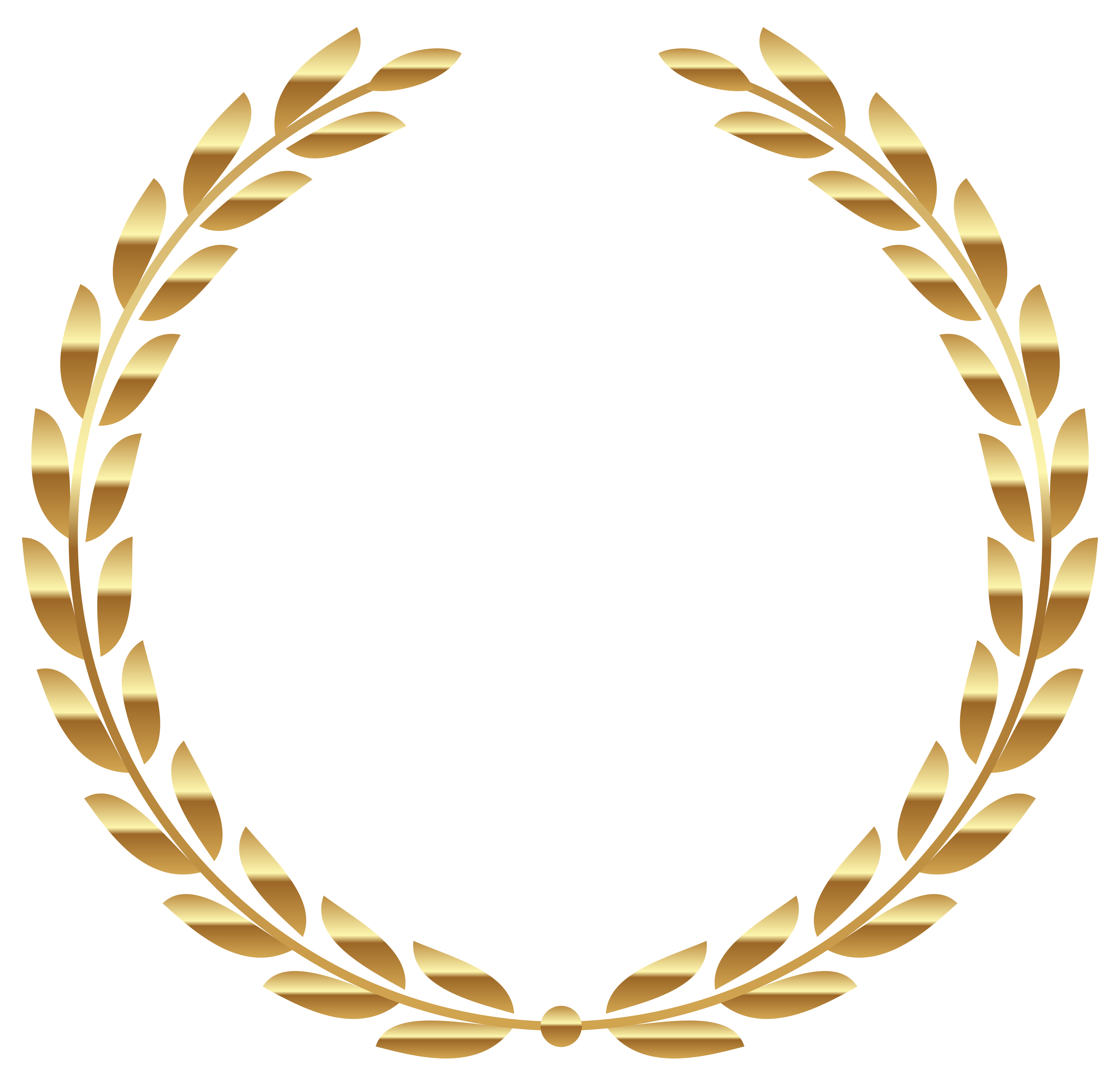 Transparent Gold Wreath Png Clipart Picture Gallery Yopriceville High Quality Images And Transparent Pn Circle Clipart Gold Wreath Clip Art Frames Borders