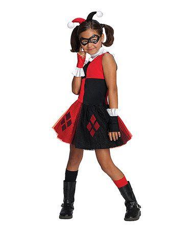 Loving this Harley Quinn Dress-Up Set - Toddler on #zulily! #zulilyfinds