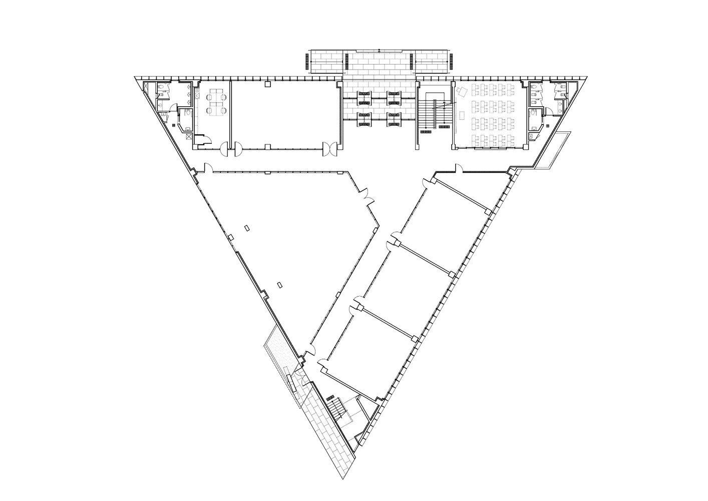 Galería de DH Escuela Triangular / NAMELESS Architecture