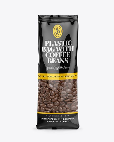 Download Clear Bag With Coffee Beans Mockup Front View In Bag Sack Mockups On Yellow Images Object Mockups Mockup Free Psd Mockup Free Download Mockup Downloads