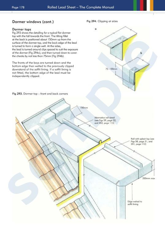 Flat Roof Dormer Roof Details Google Search Roofing