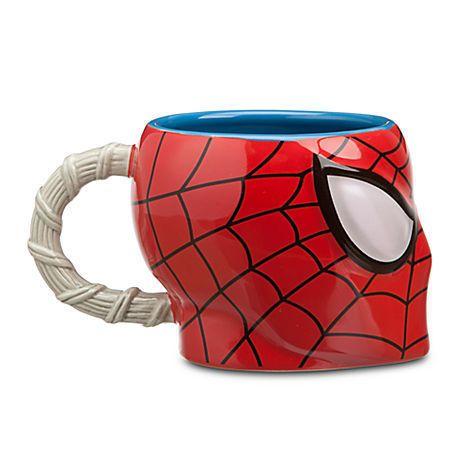 Spiderman Sculpted Disney Mug Cup Avec Images Tasses Disney