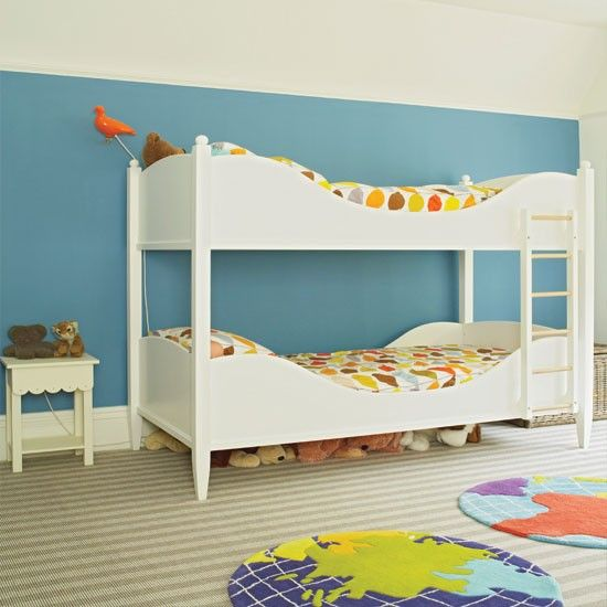 Modern Blue Childu0027s Bedroom