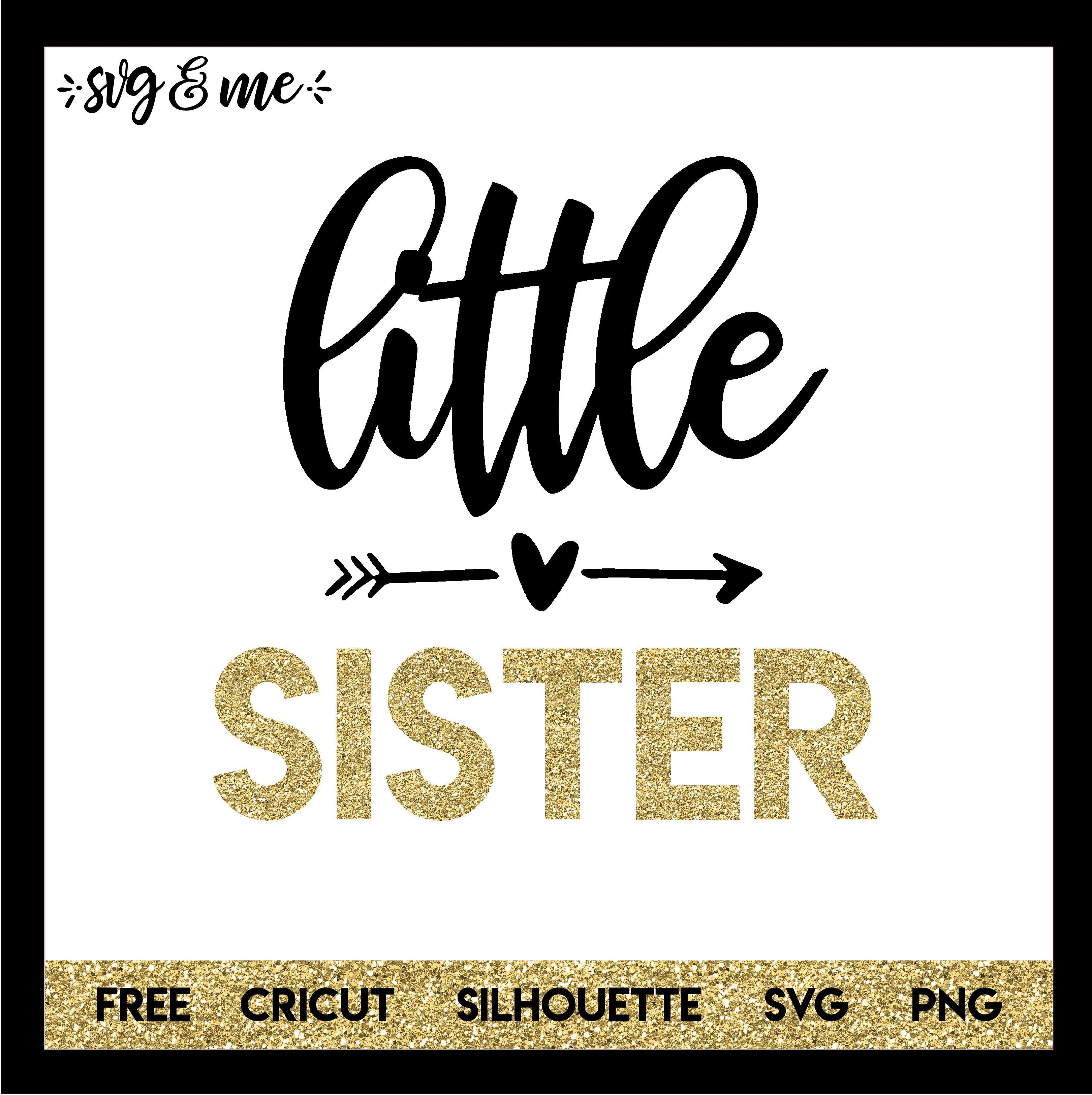 Download Little Sister New Baby | Baby svg, Free baby stuff, New ...