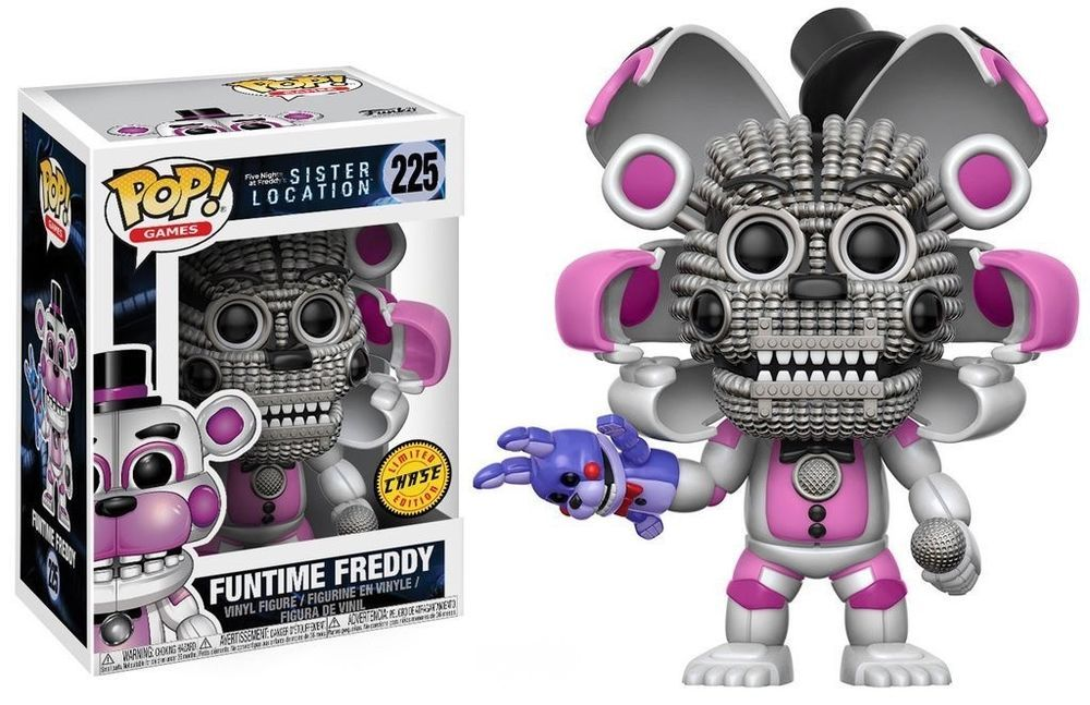 Funtime Freddy 3.75 In Funko 13730 Pop Vinyl Games Fnaf Sister Location Figure