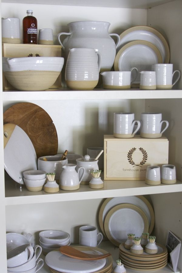 Farmhouse pottery is made in vermont and is perfect for your everyday needs epergne nashvilles newest must go store www styleblueprint com
