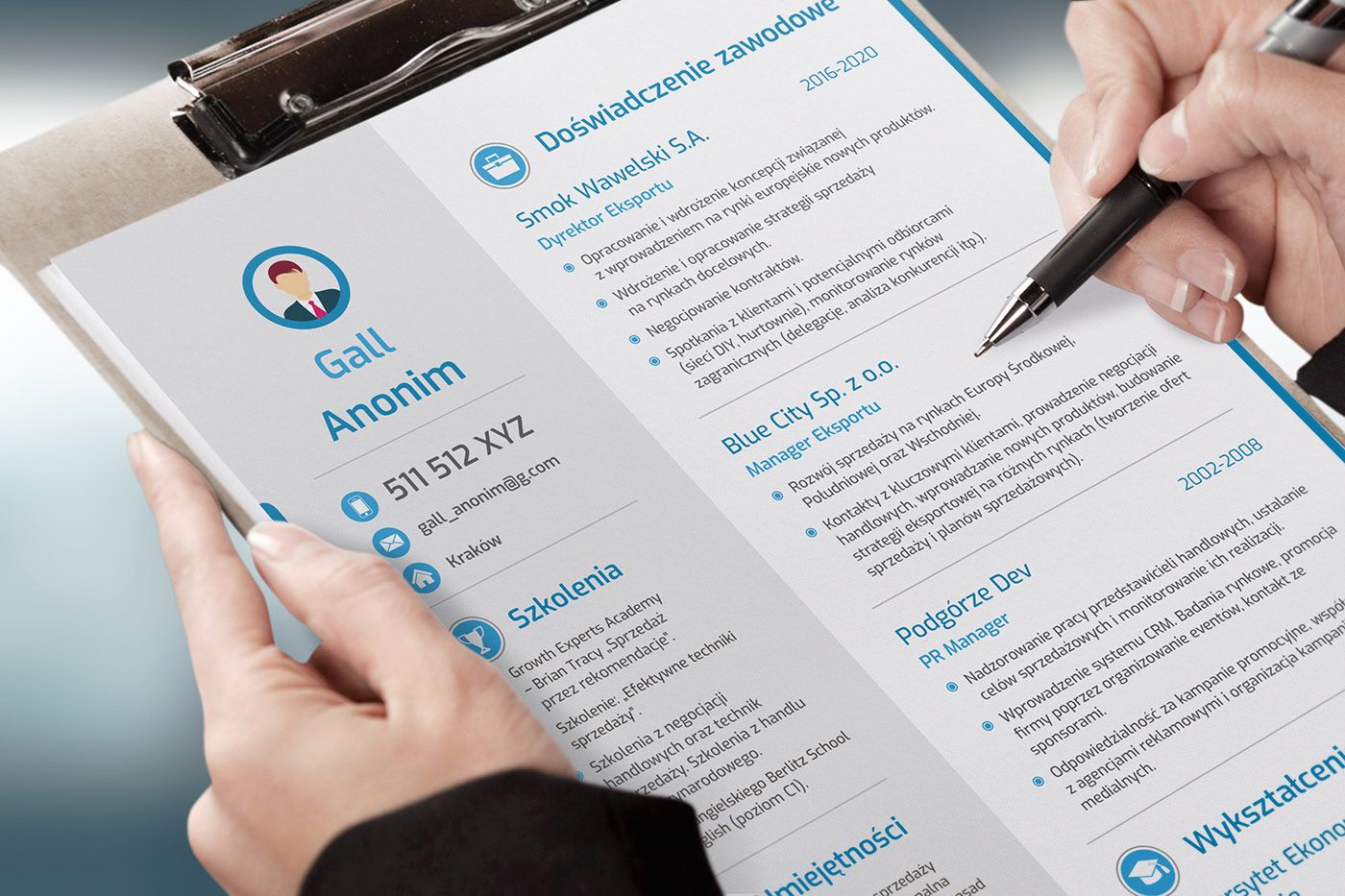 Free Modern Libre Office Resume Template in 2020 Resume