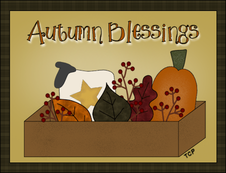 Twin Creek Primitives: Autumn Graphics