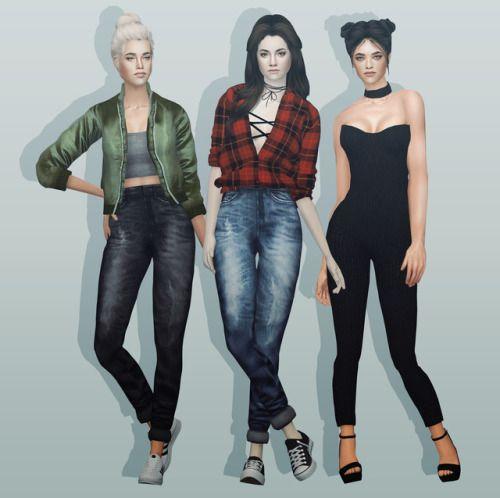 Sims 4 silk bomber jacket