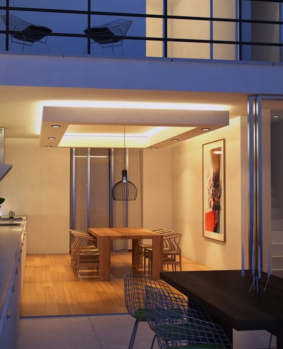 Realistic Night Lighting An Interior/Exterior