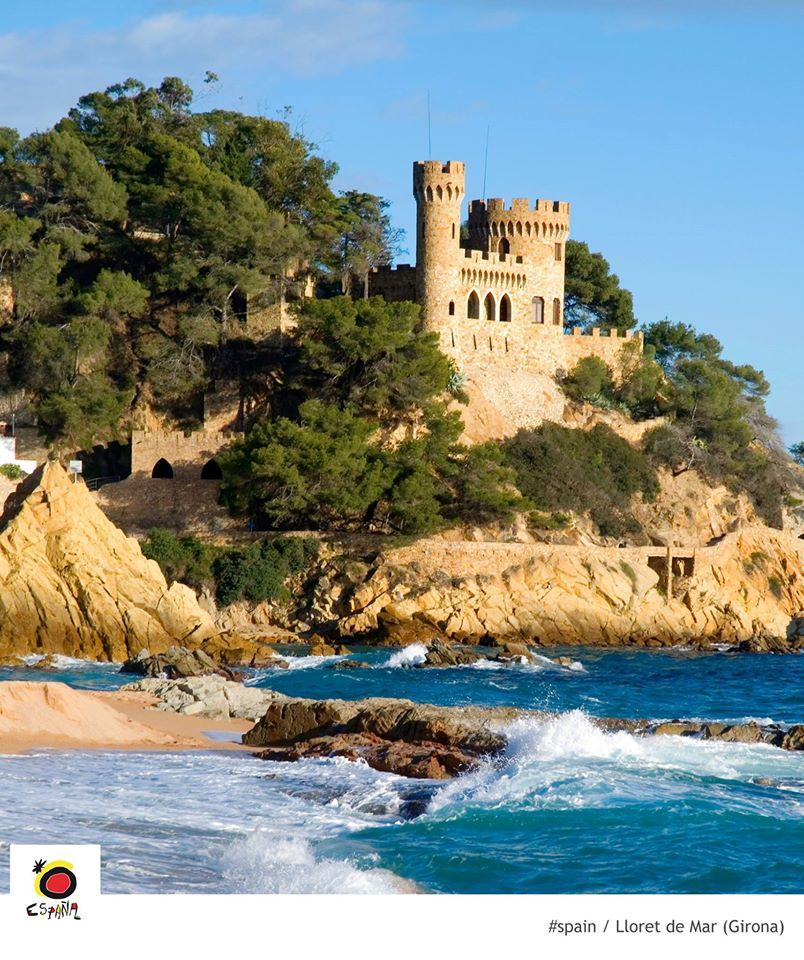 Lloret De Mar Visited During A France And Spain Camping Holiday