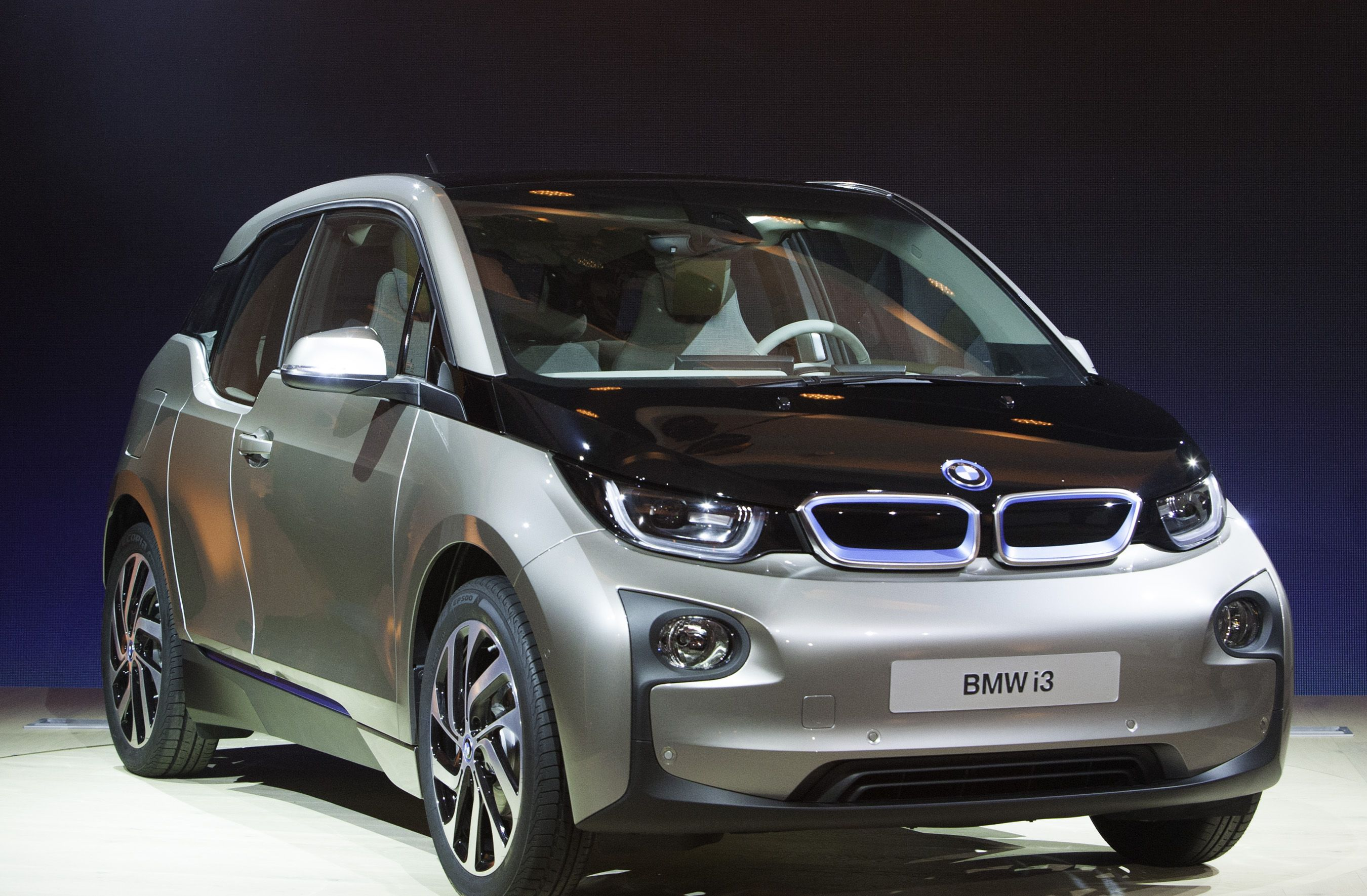 The Bmwi3 Fully Electric Car Made Primarily Of Carbon Fiber Is Unveiled In Newyork During A Simultaneous Launch With Beijing And London On Monday