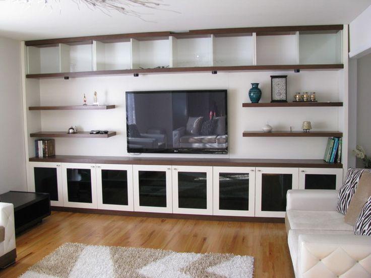 Wall Units Entertainment Bookcase Wall Unit White Tv Bookshelf