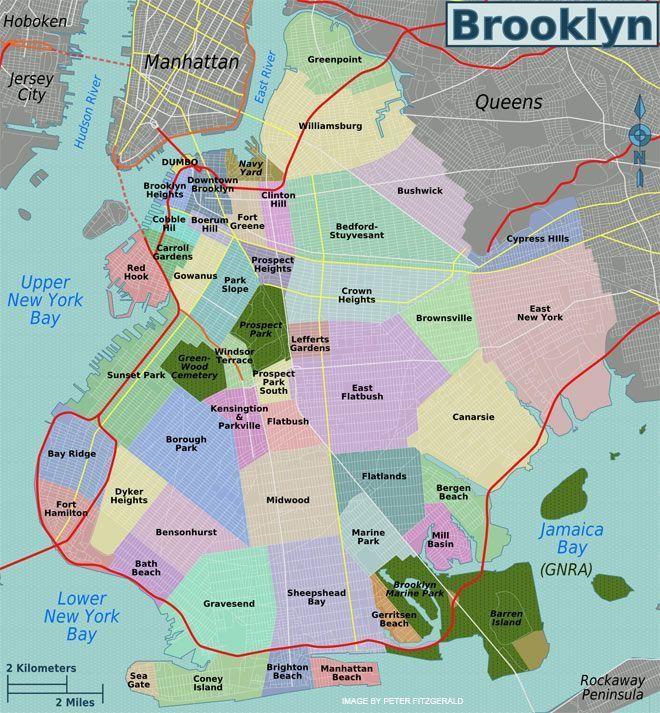 Brooklyn neighborhoods Brooklyn: Multicultural, tiene
