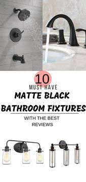 Photo of Must have matte black bathroom fixtures We hope you find this careful …