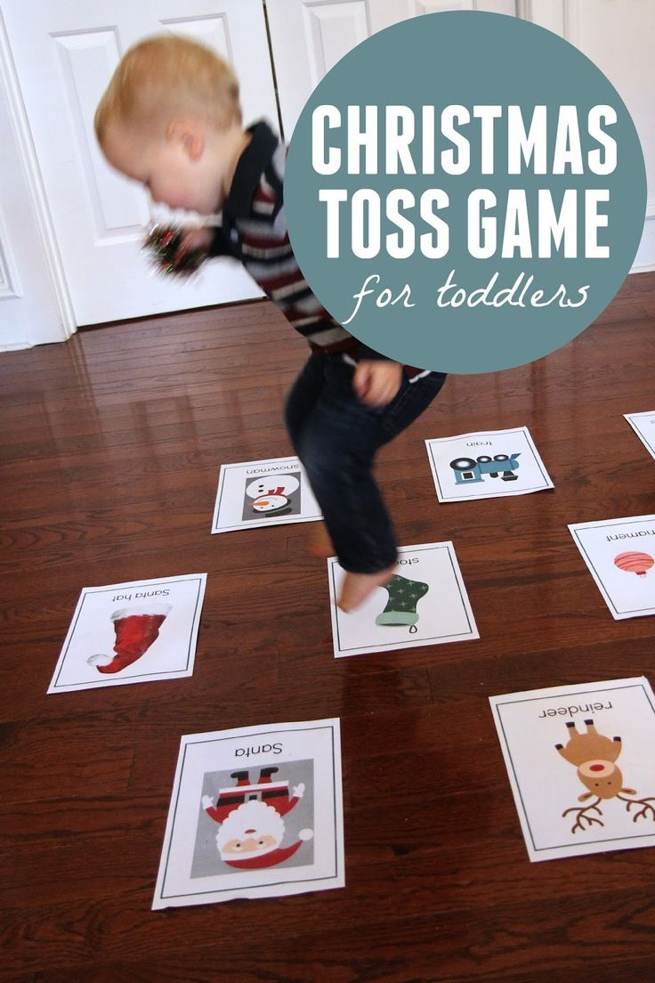 Christmas Toss Game for Toddlers | Tossed, Activities and Craft ...