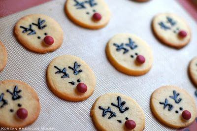 love these rudolph cream cheese sugar cookies....sooooo cute