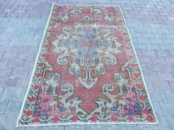 Turkish area rug Oushak carpet Vintage rug Bedroom rug Anatolia rug Floor rug Pastel Color Rug Soft Wool Rug size 137x233cm4 5x7 6feet is part of bedroom Rug Soft - Hand Woven Turkish carpet Material  (Pile Wool, Floor Cotton) colors pastel pinkbeigeblueyellow size 137x233 cm 4 5x7 6 feet CODEA403 Our rug are clean and ready for use You can return the rug if you find any defects after you receive it Please contact with us for your all questions