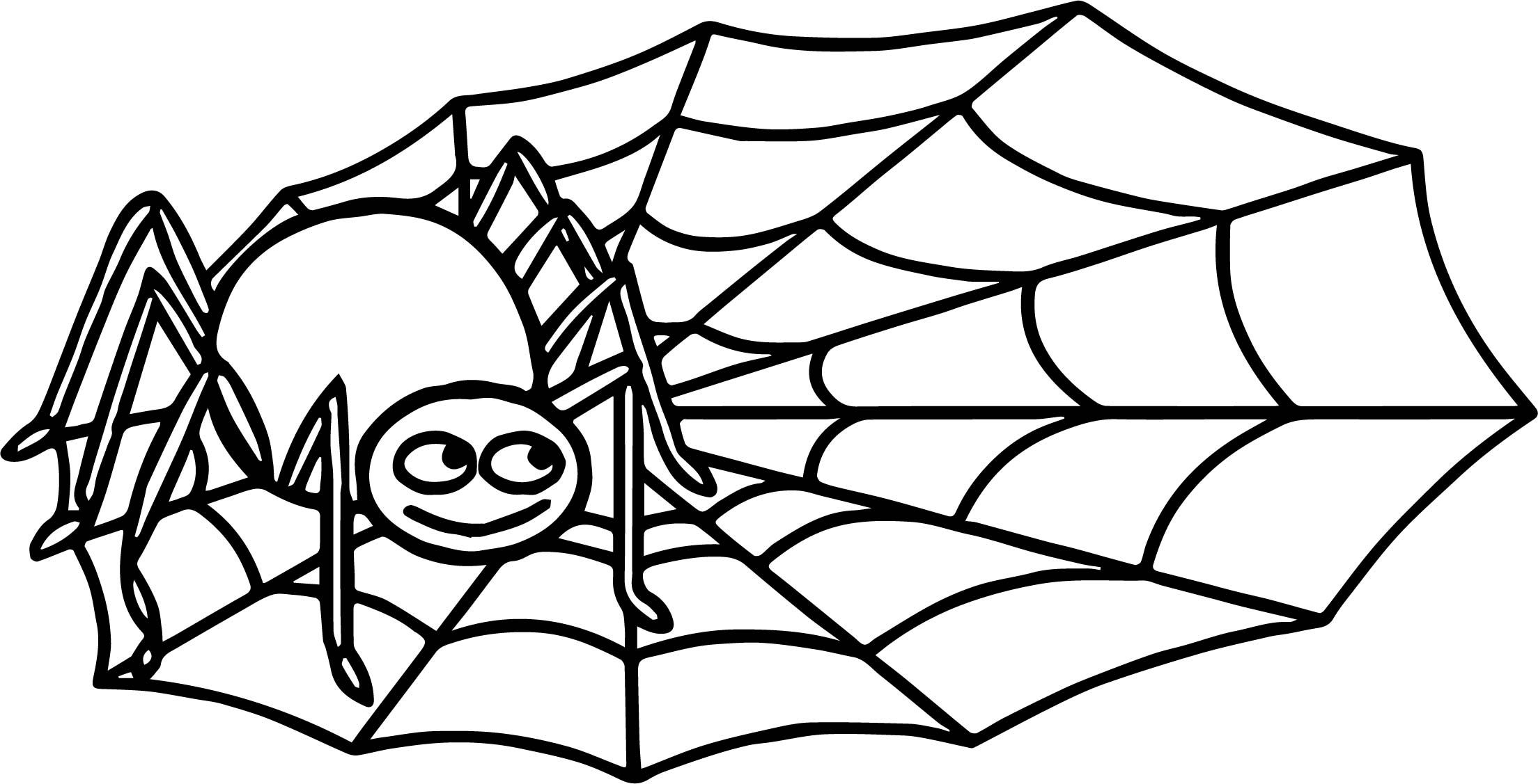 Anansi Spider Coloring Page | Spider