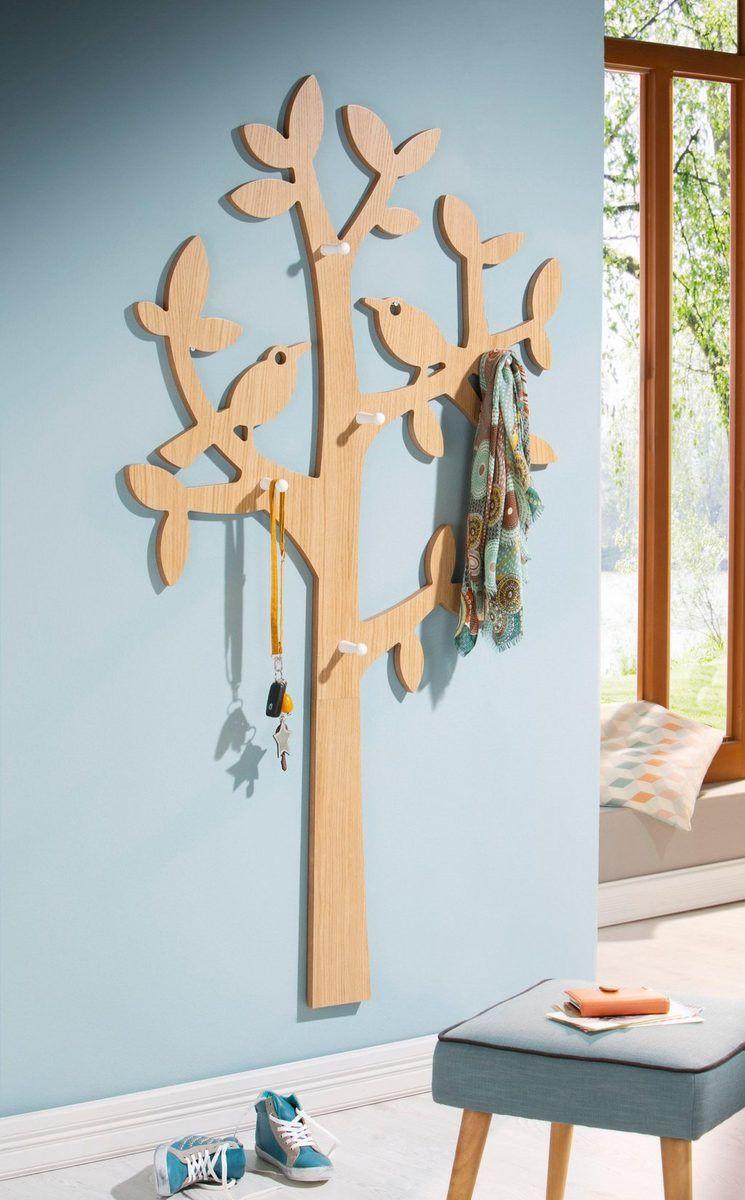 Home Affaire Garderobe Regal Mit Haken 54 Cm Otto Dekoration Regal Tweety