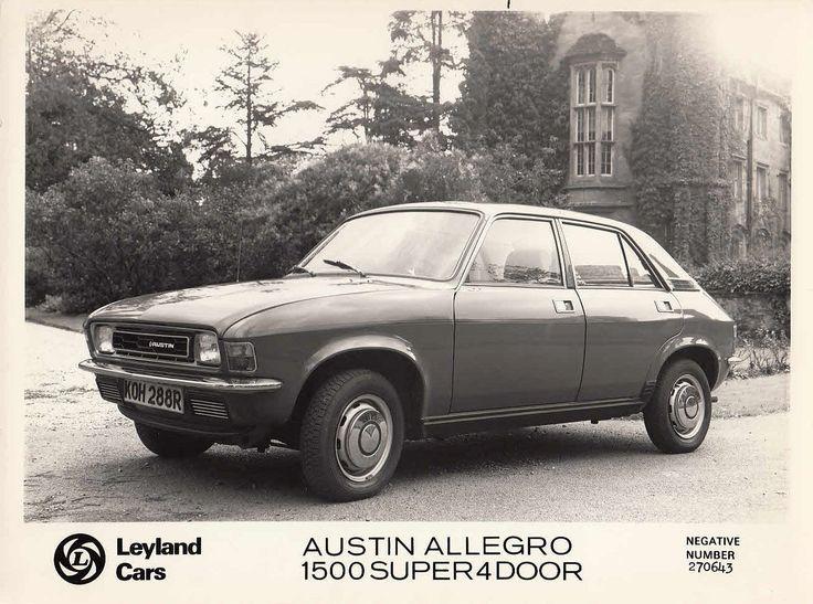 1976 austin allegro 2 1500 super 4 door leyland super 4