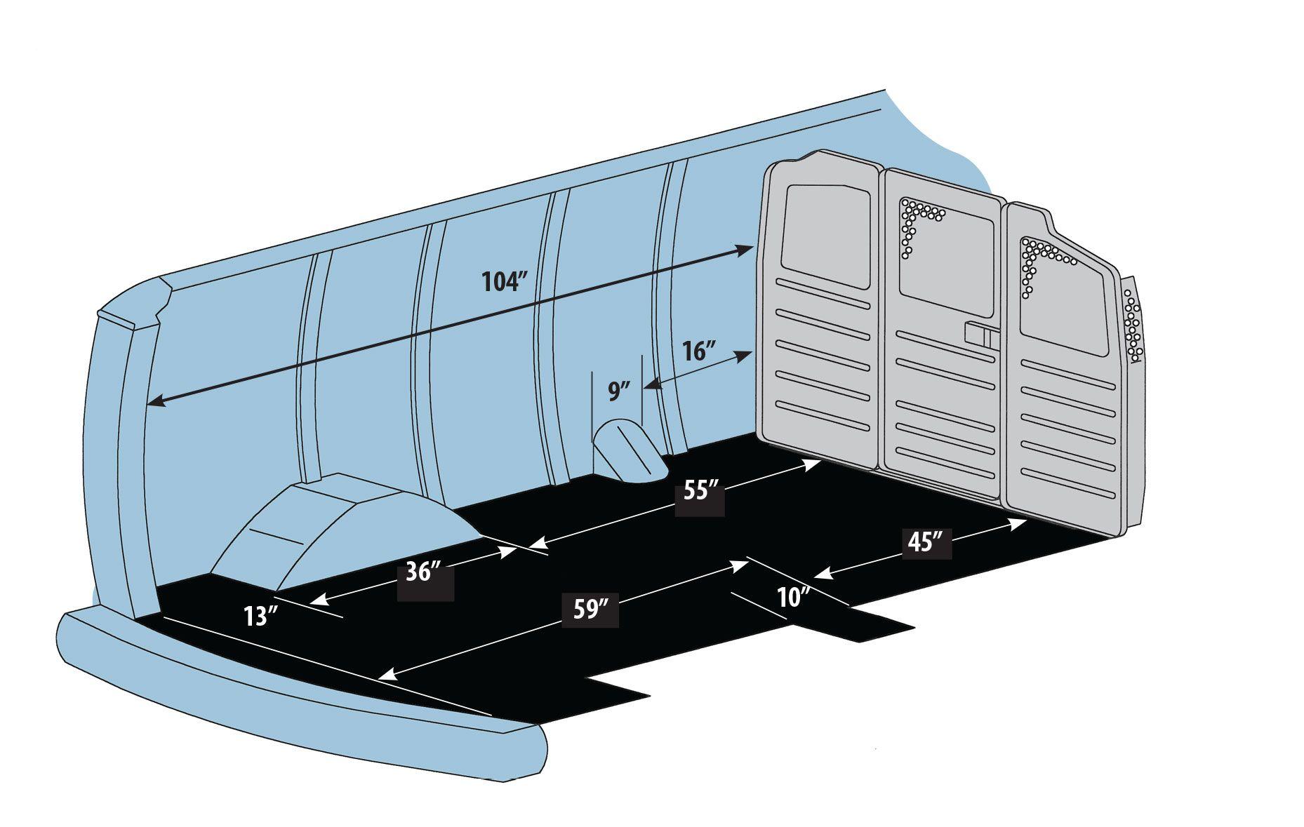 Ford Transit 250 Cargo Van Interior Dimensions - Cargo Van ...