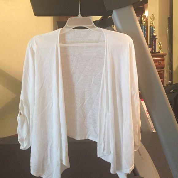 White Cardigan | White cardigan, Maurice white and White sweaters