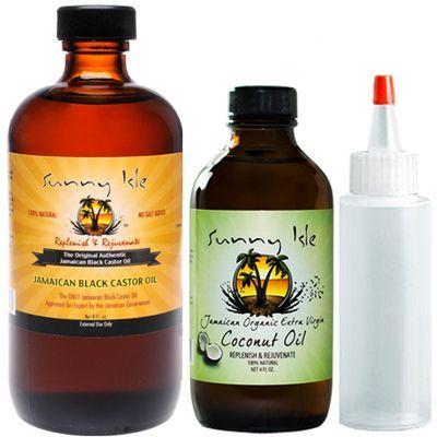 Jamaican Black Castor Oil 8oz/Organic Coconut Oil Combo #jojobaoil