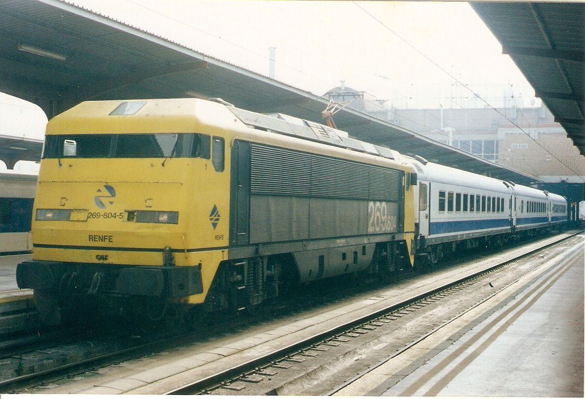 Cómo funcionan los trenes?: Fotos de locomotoras eléctricas